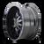 17x9 6x5.5/6x135 4.53BS 8015 Warrior Black w/Prism Blue - Mayhem Wheels