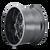 17x9 8x6.5/8x170 4.53BS 8107 Cogent Gloss Black/Milled Spokes - Mayhem Wheels