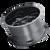 18x9 8x6.5/8x170 5BS 8107 Cogent Gloss Black/Milled Spokes - Mayhem Wheels