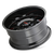 20x9 8x170 5.71BS 8110 Tripwire Black w/Prism Red - Mayhem Wheels