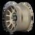 20x9 6x135 5BS 8302 Scout Matte Gold w/Black Lip - Mayhem Wheels