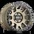 17x8.5 5x5 4.75BS 8302 Scout Matte Gold w/Black Lip - Mayhem Wheels