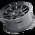 18x9 6x5.5 5BS 8302 Scout Matte Black - Mayhem Wheels