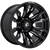 17x9 6x135 5BS D673 Blitz Gloss Black Milled - Fuel Off-Road