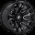 20x10 8x170 4.75BS D673 Blitz Gloss Black Milled - Fuel Off-Road