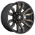 16x8 6x5.5 4.5BS D674 Blitz Matte Black DDT - Fuel Off-Road