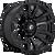 17x9 6x5.5 4.5BS D675 Blitz Gloss Black - Fuel Off-Road