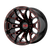 20x10 8x170 4.79BS XD841 Boneyard Gloss Blk Mil w/Red Tint - XD Wheels