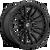 17x9 6x120 5BS D679 Rebel Matte Black - Fuel Off-Road