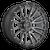 20x9 6x135 5BS D680 Rebel Matte Gunmetal Black - Fuel Off-Road