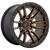22x10 6x5.5 5BS D681 Rebel Matte Bronze Black - Fuel Off-Road