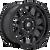 20x9 6x135 5BS D670 Tech Matte Black - Fuel Off-Road