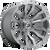 22x10 8x180 4.75BS D693 Blitz Brushed Gunmetal - Fuel Off-Road