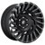 20x10 8x180 4.79BS D683 Cyclone Black/Machined - Fuel Off-Road