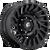18x9 5x5 5.04BS D682 Cyclone Gloss Black - Fuel Off-Road