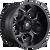 20x10 5x4.5/5x5 4.75BS D605 AVENGER MATTE BLACK DDT - Fuel Off-Road