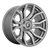20x10 8x6.5 4.79BS D713 Rage Platinum Brushed Gunmetal - Fuel Off-Road
