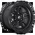 18x9 6x5.5 4.53BS D700 Ammo Matte Black - Fuel Off-Road