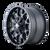 18x9 6x5.5/6x135 5.71BS 8015 Warrior Matte Black - Mayhem Wheels