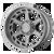 22x10 8x180 4.79BS AB816 Anvil Brushed Titanium - Asanti Off-Road Wheels