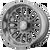 20x10 6x5.5 4.71BS AB815 Workhouse Brushed Titanium - Asanti Off-Road Wheels