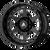 20x12 8x6.5 4.77BS AB816 Anvil Gloss Black - Asanti Off-Road Wheels