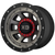 16x8 5x4.5/5x5 4.26BS XD137 FMJ Satin Black Dark Tint - XD Wheels