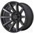 20x9 5x150 6.18BS XD847 Outbreak Satin Black - XD Wheels