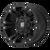 17x9 6x5.5/6x135 6.18BS XD822 Monster 2 Matte Black - XD Wheels