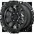 18x9 6x5.5 5.71BS XD143 RG3 Satin Black - XD Wheels