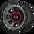 20x10 8x6.5 4.79BS XD137 FMJ Satin Black Dark Tint - XD Wheels