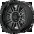 22x10 8x6.5 4.79BS XD857 Grenade Gloss Black With Grey Tint - XD Wheels