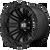 20x10 8x170 4.79BS XD846 Double Satin Black - XD Wheels
