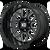 24x12 8x170 4.77BS XD849 Grenade 2 Gloss Black Milled - XD Wheels
