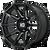 20x9 8x180 5.71BS XD847 Outbreak Gloss Black - XD Wheels