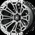 20x12 5x5 4.93BS AB813 Cleaver Brushed Black - Asanti Off-Road Wheels