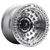 17x9 5x5 4.41BS D102 Zephyr Gloss Machined - Fuel Off-Road
