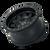 14x7 4x156 4.41BS Roadkill 9302 Black/Black Beadlock - Dirty Life Wheels