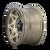 20x9 5x150 5.71BS Theory 9305 Gold w/Matte Blk Lip - Dirty Life Wheels