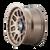 17x9 5x150 5BS Mesa 9306 Bronze - Dirty Life Wheels