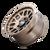 17x9 5x5 4.53BS Mesa 9306 Bronze - Dirty Life Wheels