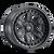 17x8.5 6x120 4.51BS Cage 9308 Black - Dirty Life Wheels