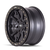 17x9 8x6.5 4.53BS DT-2 9304 Black W/Simulated Ring - Dirty Life Wheels
