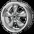 17x7 5x4.5 4BS AR105 Torq Thrust M Anthracite w/Mach Lip - American Racing