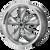 17x8 5x4.5 5.68BS AR105 Torq Thrust M Anthracite w/Mach Lip - American Racing