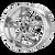 18x8 5x5 4.5BS AR605 Torq Thrust M Chrome - American Racing