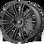 20x8.5 5x4.5 6.13BS D2 Gloss Black - American Racing