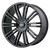 20x8.5 5x4.5/5x5 6.13BS D2 Gloss Black - American Racing