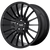 20x10 5x4.75 7.07BS AR934 Fastlane Gloss Black - American Racing