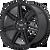 20x8.5 5x4.5 6.13BS AR935 Redline Gloss Black - American Racing